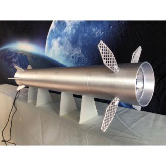 SpaceX Superheavy model kit